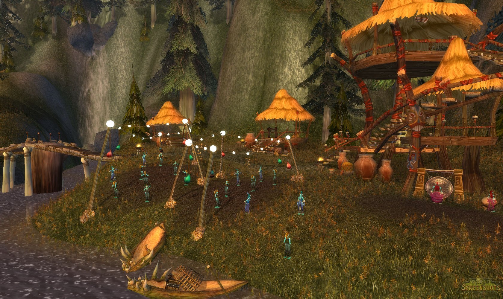 Dancing Troll Village...